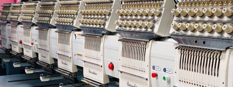 Embroidery printing custom workwear clothing